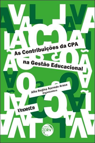 Capa do livro: AS CONTRIBUIÇÕES DA CPA NA GESTÃO EDUCACIONAL
