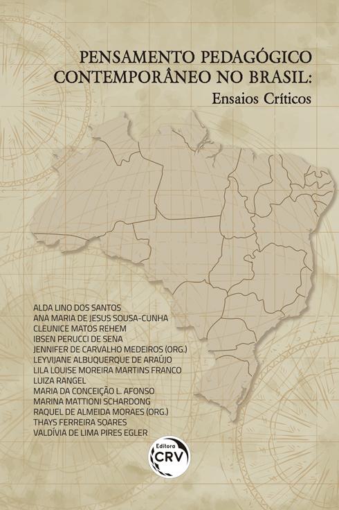 Capa do livro: PENSAMENTO PEDAGÓGICO CONTEMPORÂNEO NO BRASIL:<br> ensaios críticos