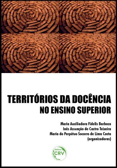 Capa do livro: TERRITÓRIOS DA DOCÊNCIA NO ENSINO SUPERIOR