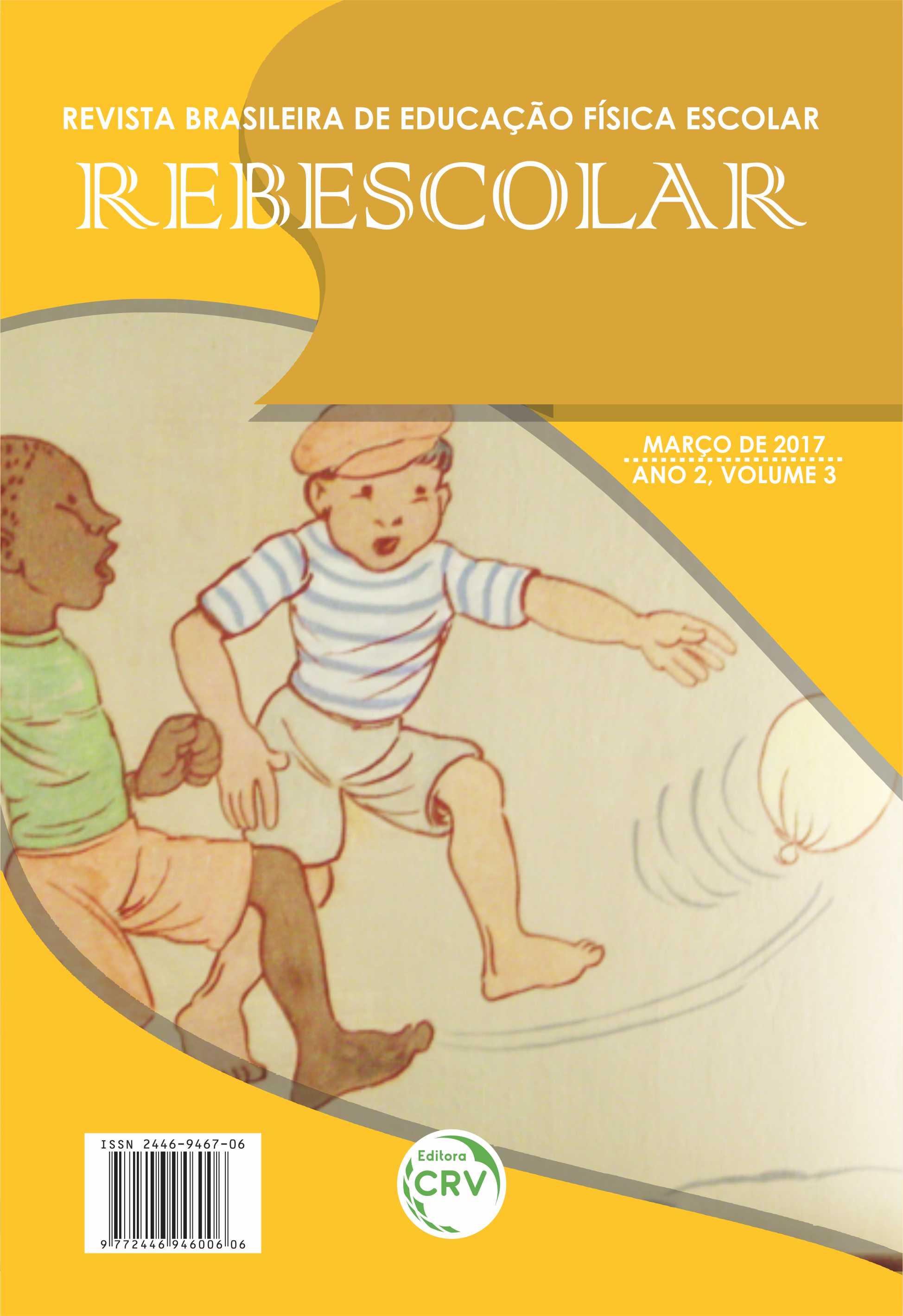 Capa do livro: REVISTA REBESCOLAR - ANO II - VOLUME III