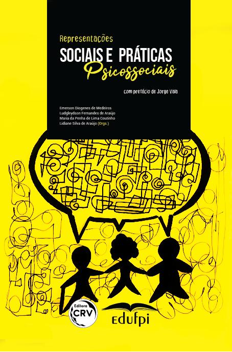 Capa do livro: REPRESENTAÇÕES SOCIAIS E PRÁTICAS PSICOSSOCIAIS