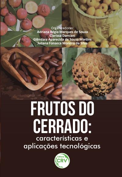 Capa do livro: FRUTOS DO CERRADO:<br>características e aplicações tecnológicas