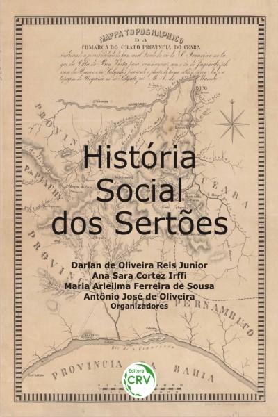 Capa do livro: HISTÓRIA SOCIAL DOS SERTÕES