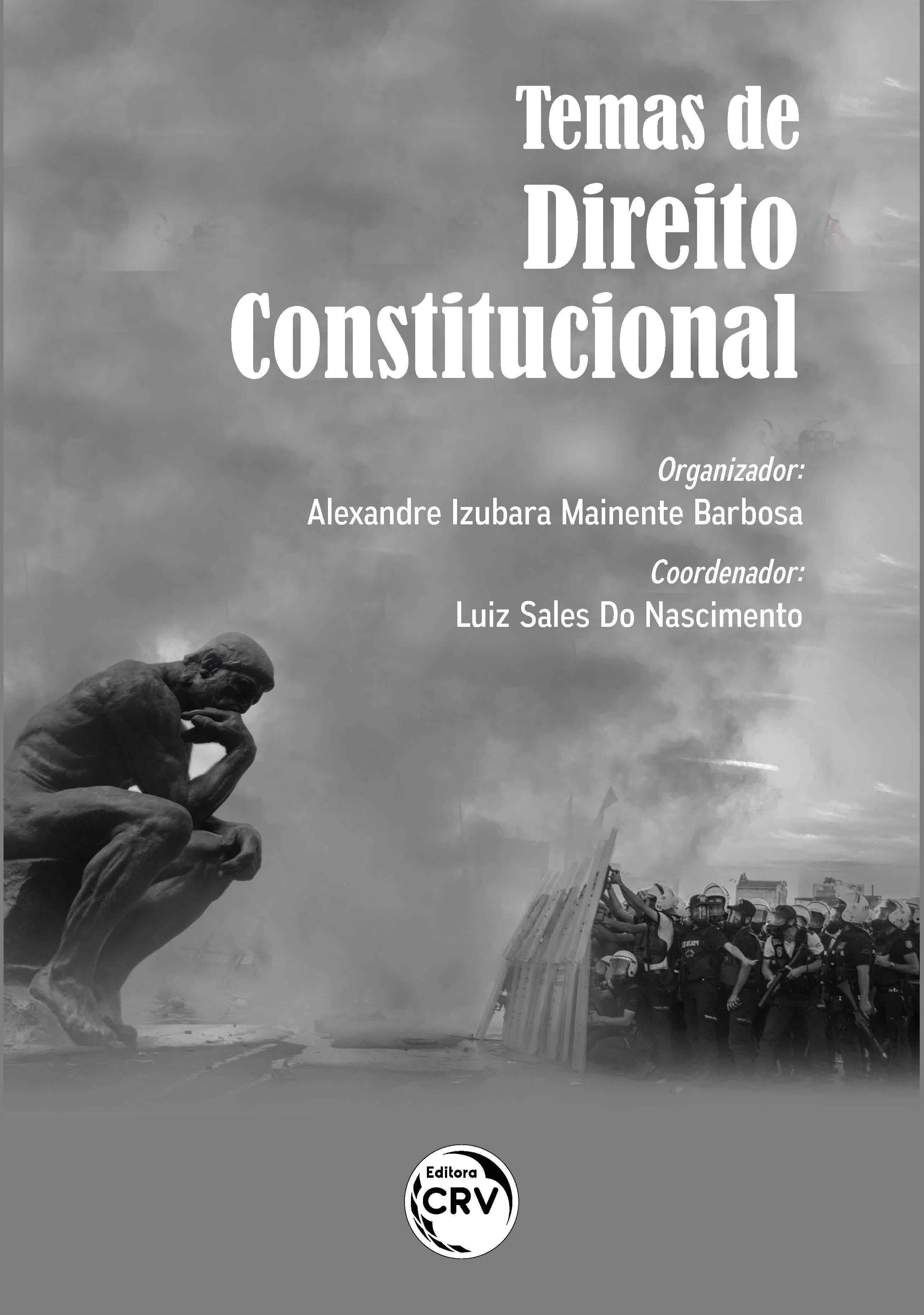 Capa do livro: TEMAS DE DIREITO CONSTITUCIONAL