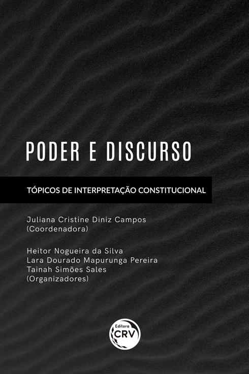 Capa do livro: PODER E DISCURSO: <br>Tópicos de Interpretação Constitucional