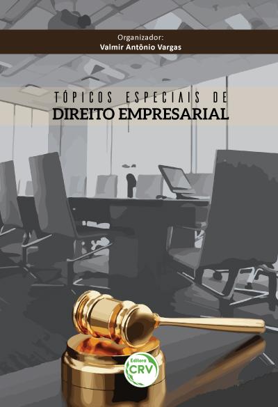 Capa do livro: TÓPICOS ESPECIAIS DE DIREITO EMPRESARIAL