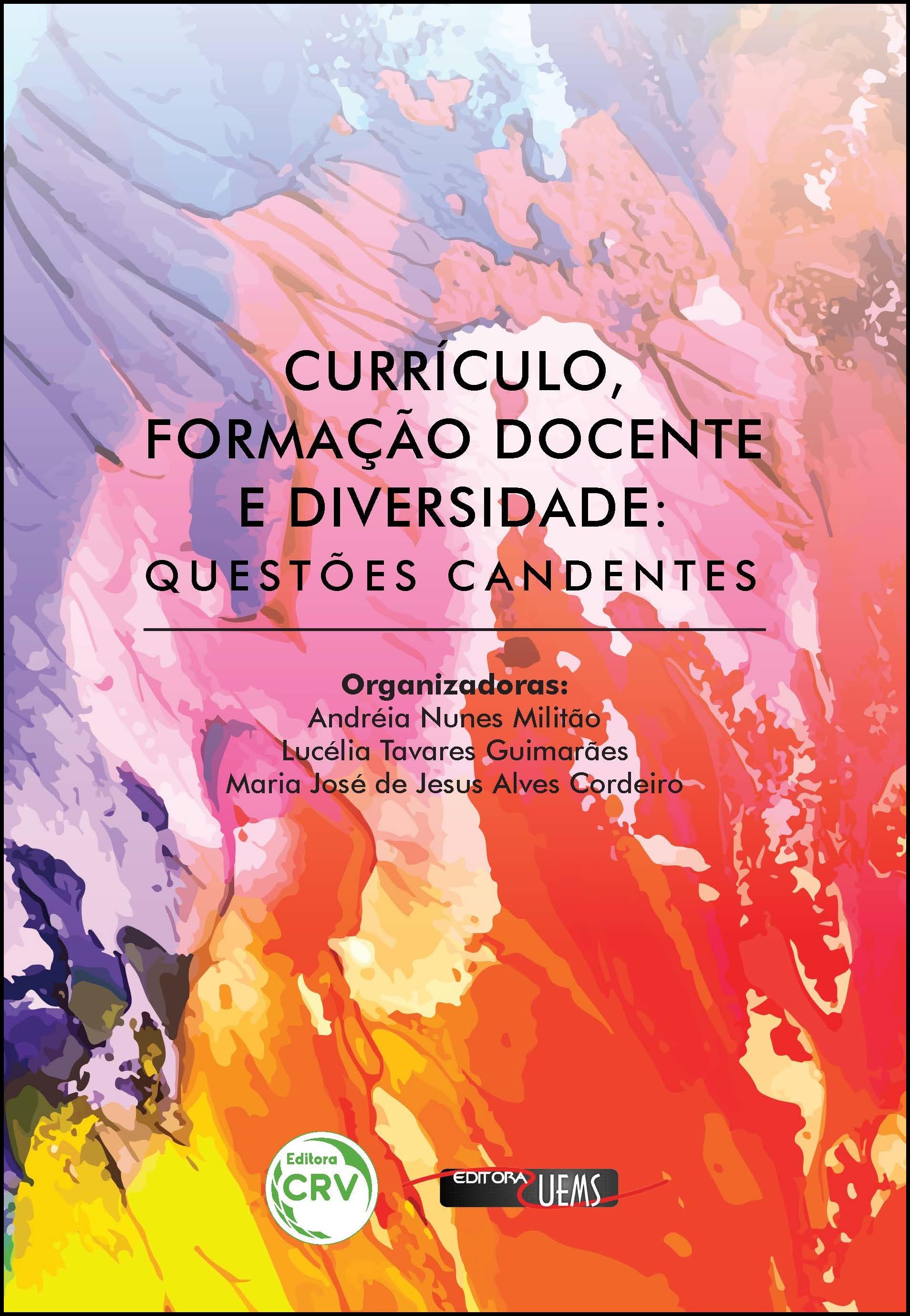 Capa do livro: CURRÍCULO, FORMAÇÃO DOCENTE E DIVERSIDADE: <br>questões candentes