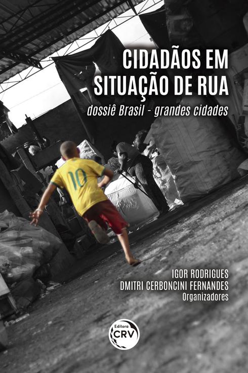Capa do livro: CIDADÃOS EM SITUAÇÃO DE RUA: <br> Dossiê Brasil - Grandes cidades