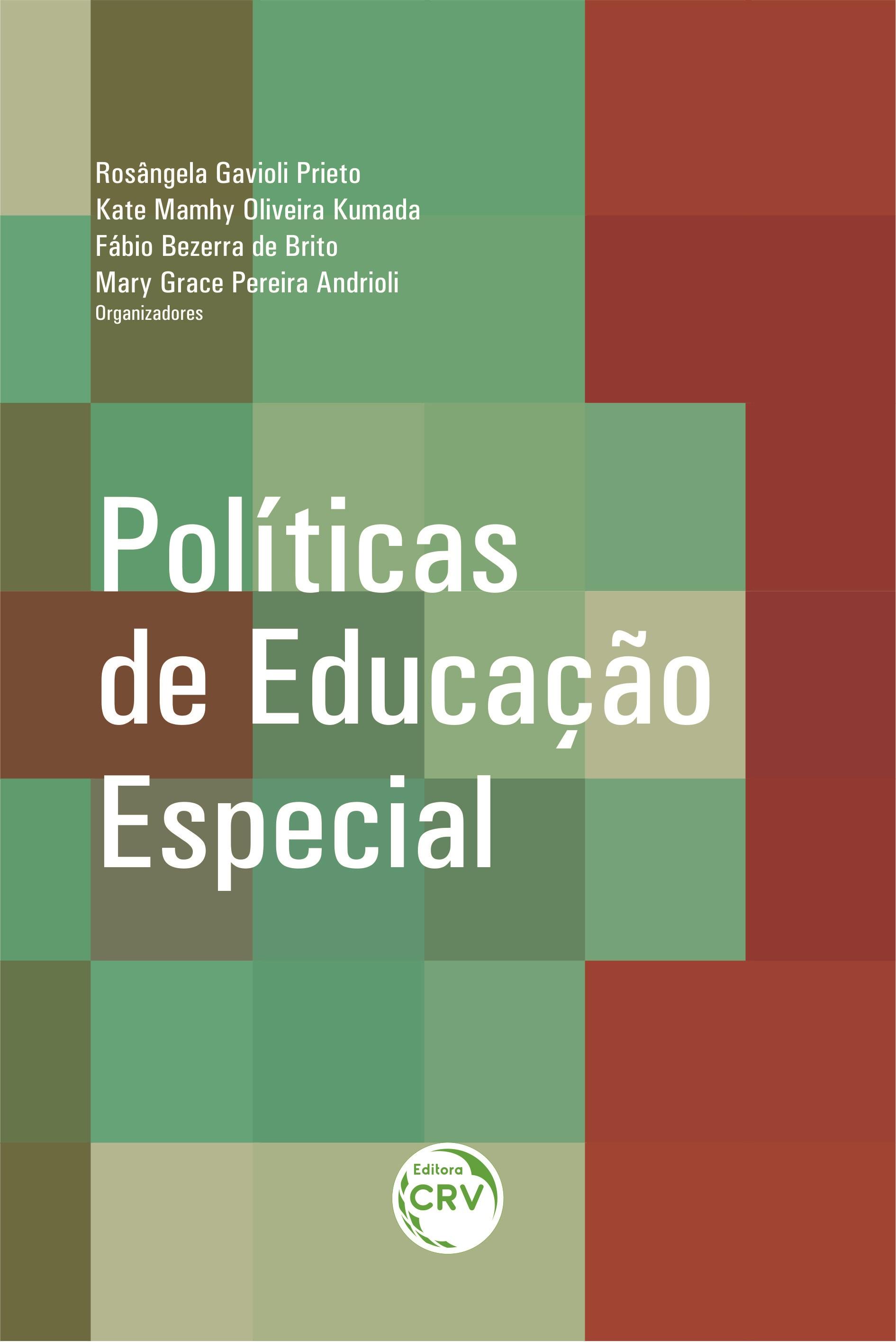 Capa do livro: POLÍTICAS DE EDUCAÇÃO ESPECIAL