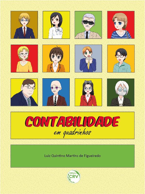 Capa do livro: CONTABILIDADE EM QUADRINHOS - COLORIDO