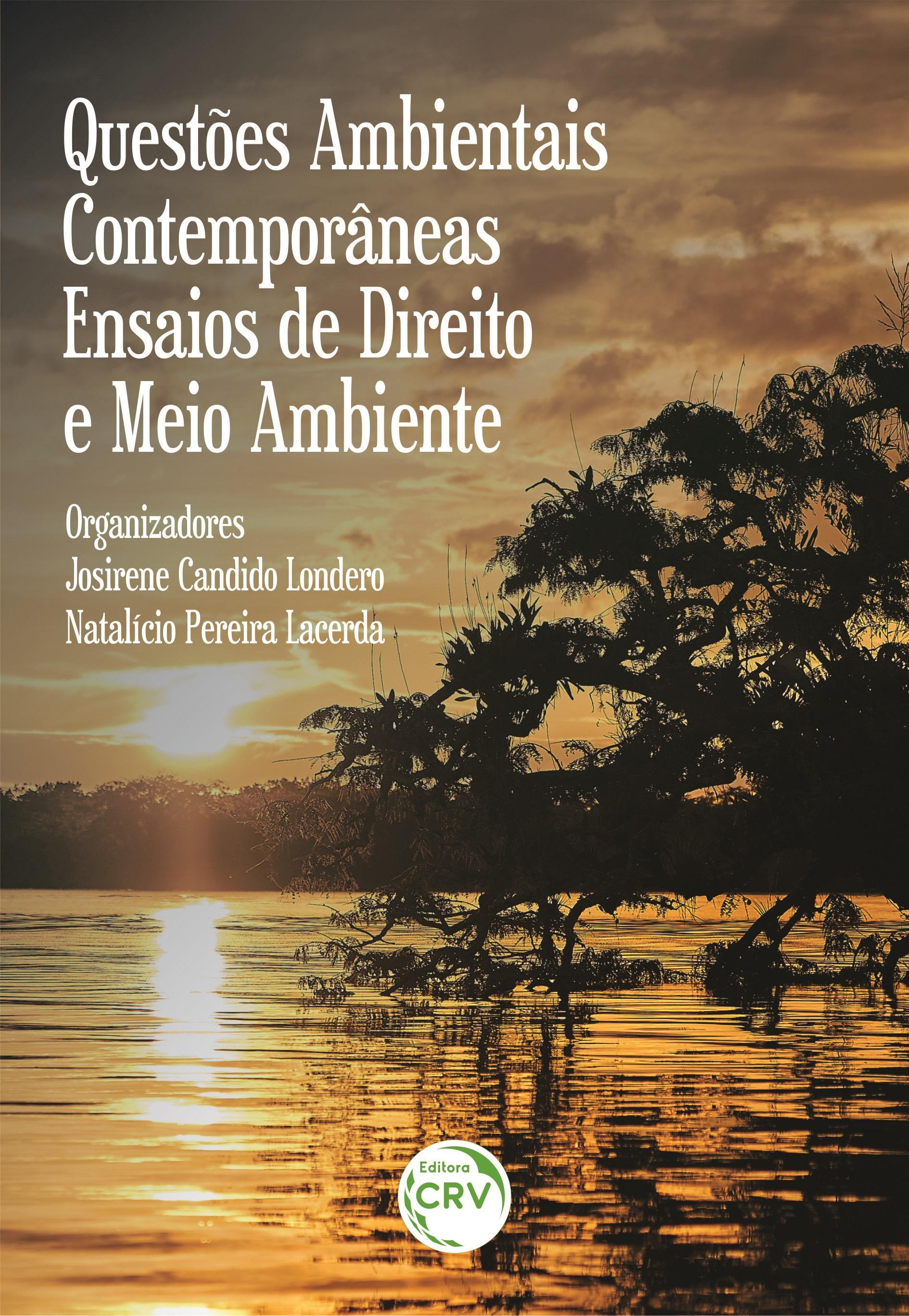 Capa do livro: QUESTÕES AMBIENTAIS CONTEMPORÂNEAS: <br>ensaios de direito e meio ambiente