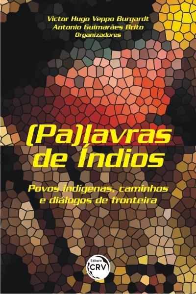 Capa do livro: (PA)LAVRAS DE ÍNDIOS: <br>povos indígenas, caminhos e diálogos de fronteira