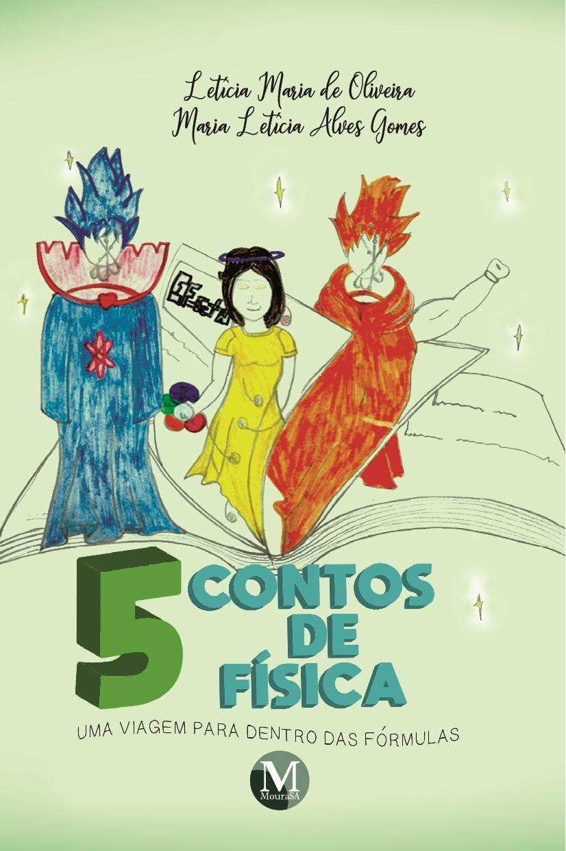 Capa do livro: 5 CONTOS DE FÍSICA:<br> uma viagem para dentro das fórmulas