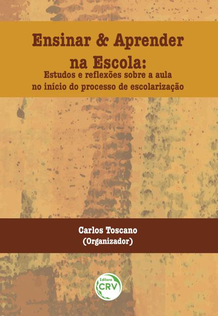 Capa do livro: ENSINAR E APRENDER NA ESCOLA: <br>estudos e reflexões sobre a aula no início do processo de escolarização