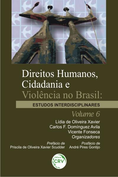 Capa do livro: DIREITOS HUMANOS, CIDADANIA E VIOLÊNCIA NO BRASIL: <br>estudos interdisciplinares <br>Volume 6