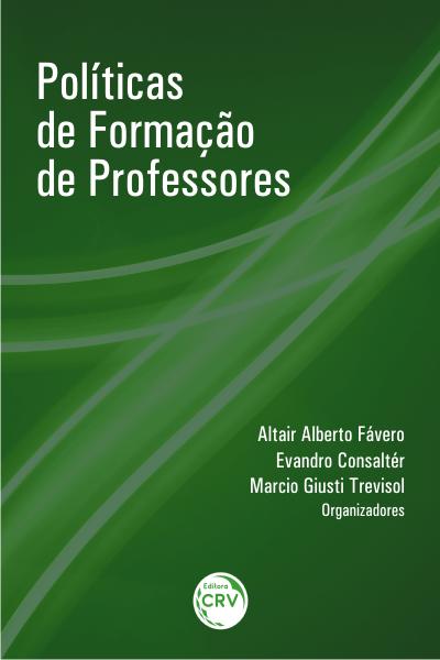 Capa do livro: POLÍTICAS DE FORMAÇÃO DE PROFESSORES