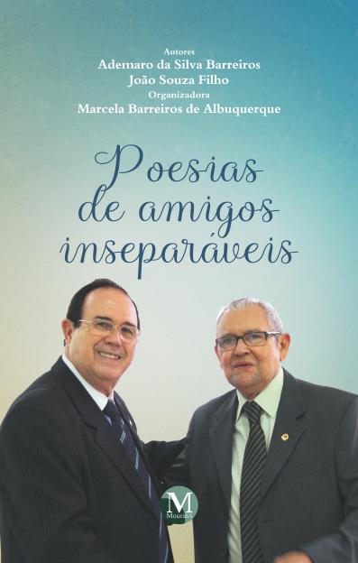 Capa do livro: POESIAS DE AMIGOS INSEPARÁVEIS