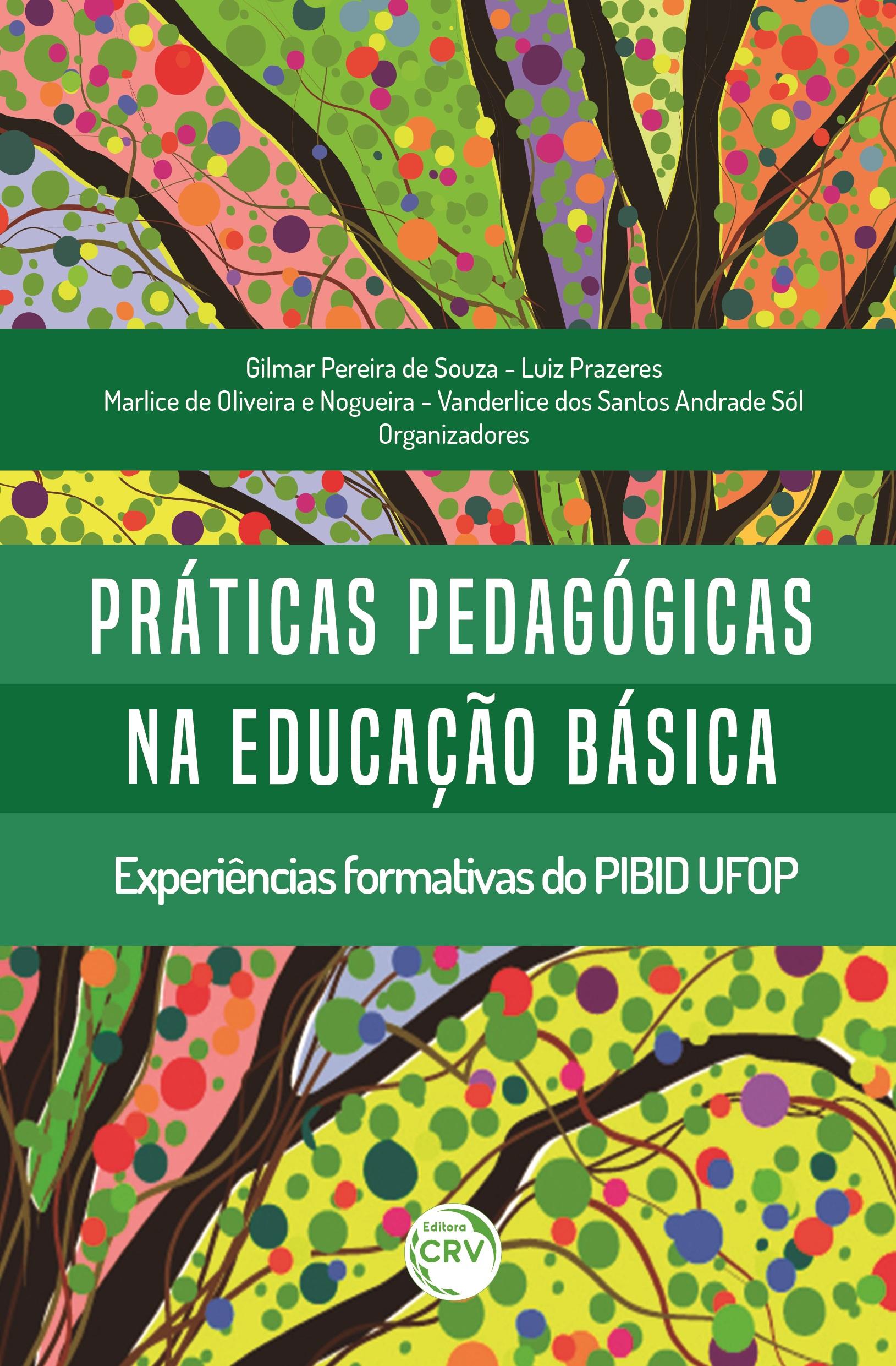 Capa do livro: PRÁTICAS PEDAGÓGICAS NA EDUCAÇÃO BÁSICA: <br>experiências formativas do PIBID UFOP