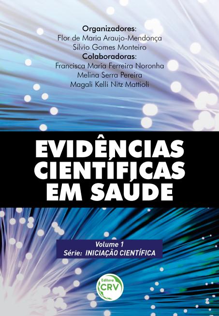 Capa do livro: EVIDÊNCIAS CIENTÍFICAS EM SAÚDE