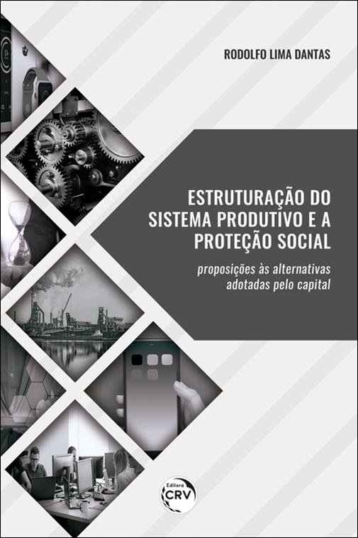 Capa do livro: ESTRUTURAÇÃO DO SISTEMA PRODUTIVO E A PROTEÇÃO SOCIAL:<br> proposições às alternativas adotadas pelo capital