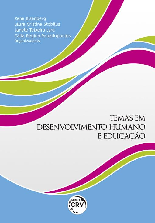 Capa do livro: TEMAS EM DESENVOLVIMENTO HUMANO E EDUCAÇÃO