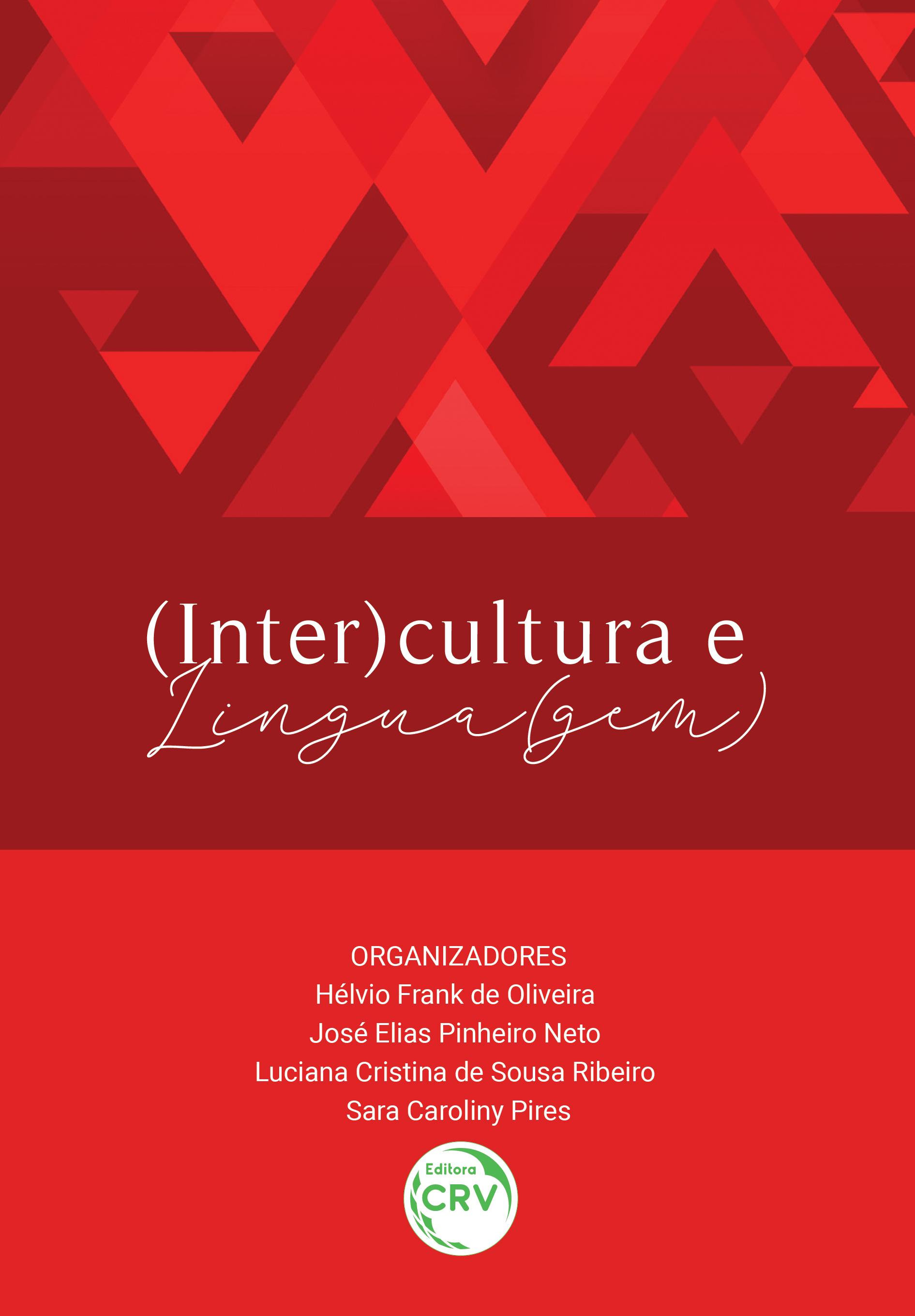 Capa do livro: (INTER)CULTURA E LINGUA(GEM)