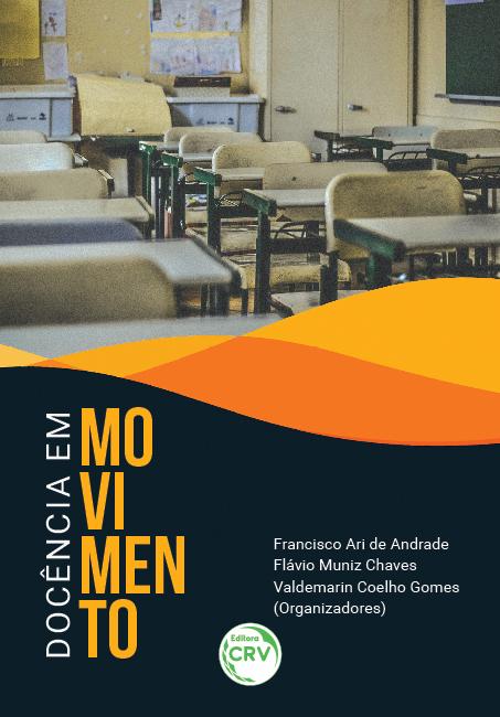 Capa do livro: DOCÊNCIA EM MOVIMENTO