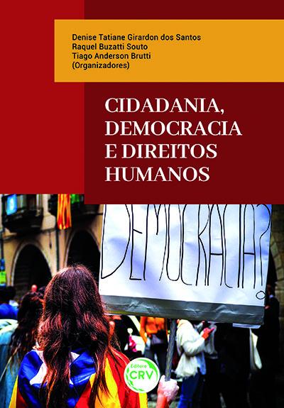 Capa do livro: CIDADANIA, DEMOCRACIA E DIREITOS HUMANOS