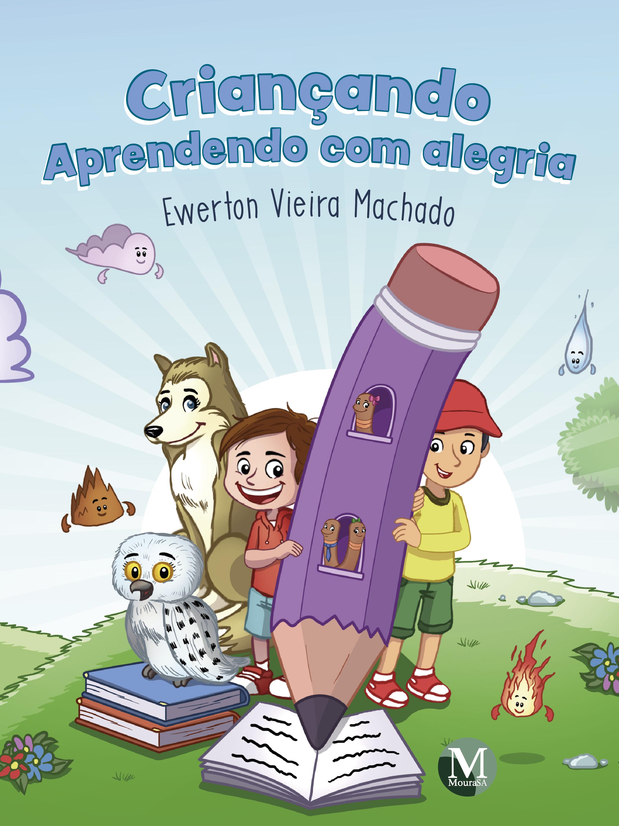 Capa do livro: CRIANÇANDO - APRENDENDO COM ALEGRIA
