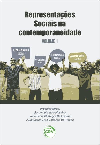 Capa do livro: REPRESENTAÇÕES SOCIAIS NA CONTEMPORANEIDADE - Volume 1