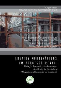 ENSAIOS MONOGRÁFICOS EM PROCESSO PENAL:<br> delação premiada, linchamentos, audiência de custodia e mitigação da presunção de inocência