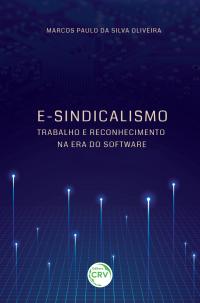 E-SINDICALISMO: <br> trabalho e reconhecimento na era do software
