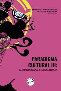 PARADIGMA CULTURAL III: <br>campo educacional e cultura escolar
