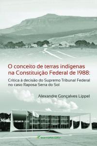 O CONCEITO DE TERRAS INDÍGENAS NA CONSTITUIÇÃO FEDERAL DE 1988:<br>crítica à decisão do Supremo Tribunal Federal no caso Raposa Serra do Sol