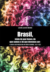 """""""BRASIL, VISÃO DO QUE FOMOS, DO QUE SOMOS E DO QUE DEVEMOS SER"""": <br>a causa luso-brasileira em João de Barros, 1912-1922"""