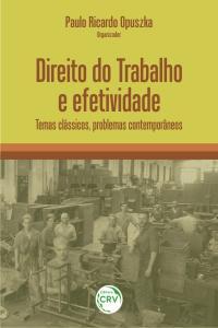 DIREITO DO TRABALHO E EFETIVIDADE:<br> temas clássicos, problemas contemporâneos